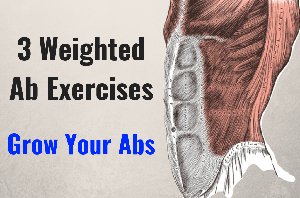 Weighted Ab Exercises: 3 Simple Movements